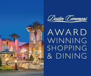 Blue Award Winning – Destin Commons