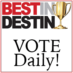 VIP Best In Destin VOTE Daily 250×250 Tile