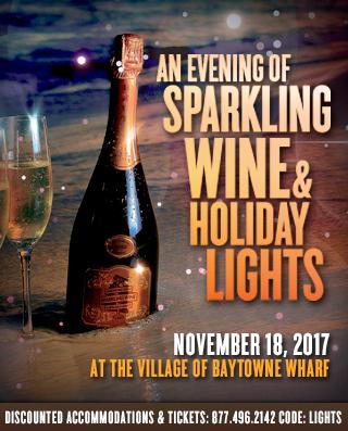 DE: Sandestin 320×397 – Sparking Wine and Holiday Lights