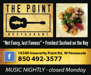 The Point Restaurant, Nightly Music 300×250
