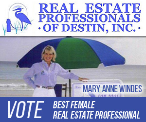 Mary Ann Windes, Real Estate Professional 300×250 Best In Destin 2018
