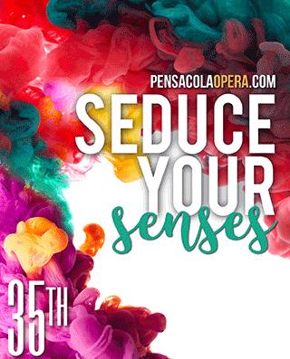 Pensacola Opera – Seduce Your Senses, Tower Ad – Oct 2017