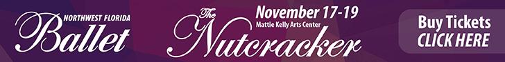 NW Florida Ballet Nutcracker Nov 2017 – 728×90
