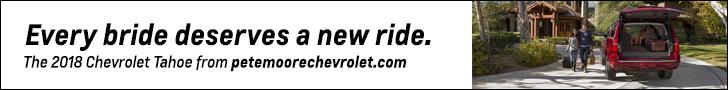 Pete Moore Chevrolet 728×90 Tahoe Bridal
