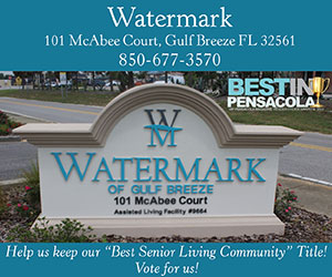 Watermark of Gulf Breeze best in Pensacola 2018